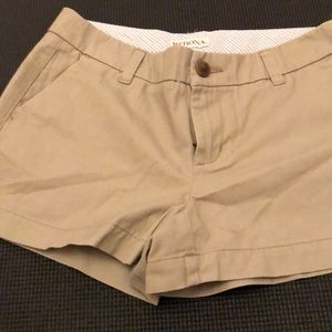 Merona tan chino khaki shorts 2